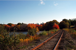 Click here to view a larger image of Cape Cod Railroad in Autumn.
